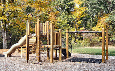 commercial wood playground equipment